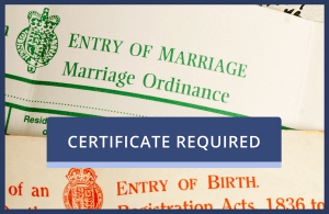 UK Certificates with Consular Legalisation and Apostille
