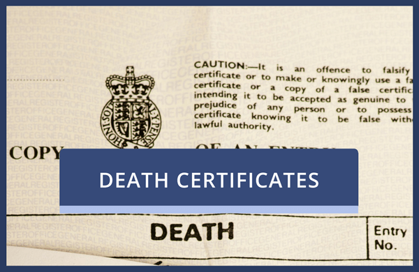 Order UK Death Certificates Online