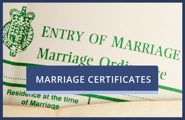 Marriage Certificate Replacement Service