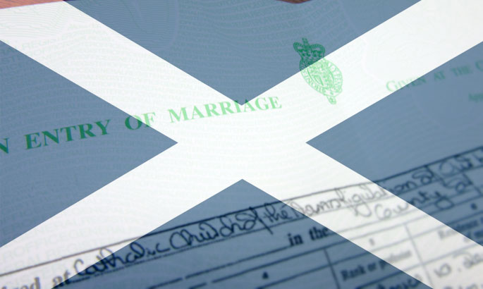 Duplicate Scottish Marriage Certificate