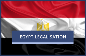 Egyptian Legalisation of Existing UK Documents