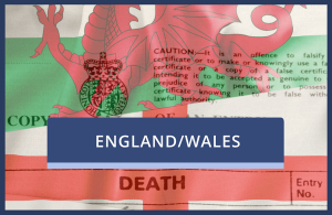 Death Certificate (England or Wales)