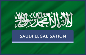 Saudi Legalisation of UK Documents