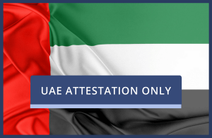 UAE Attestation Only
